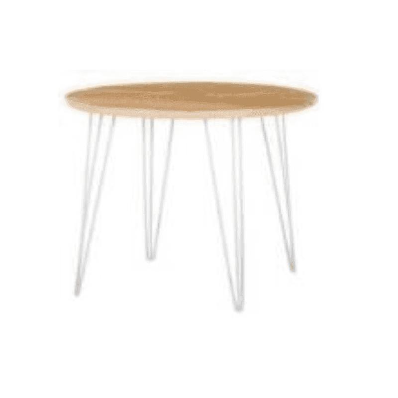 hairpin leg cafe table