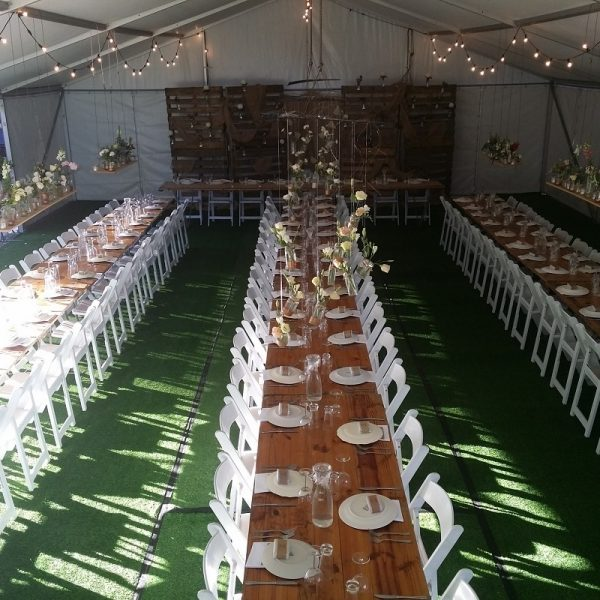 Wedding Hire Adelaide oakbank rustic wedding