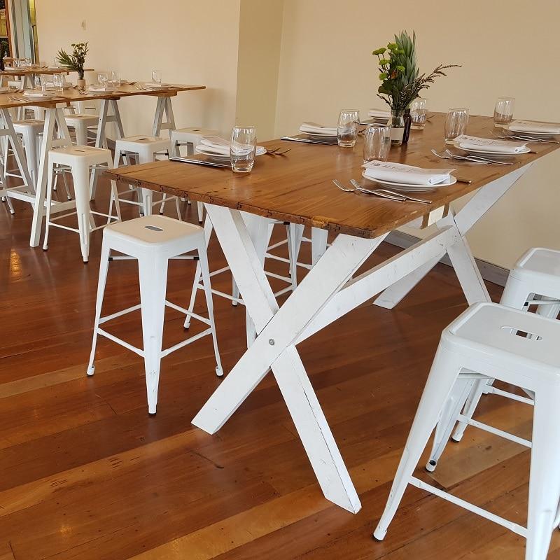 Harvest leg dining table National Wine Centre