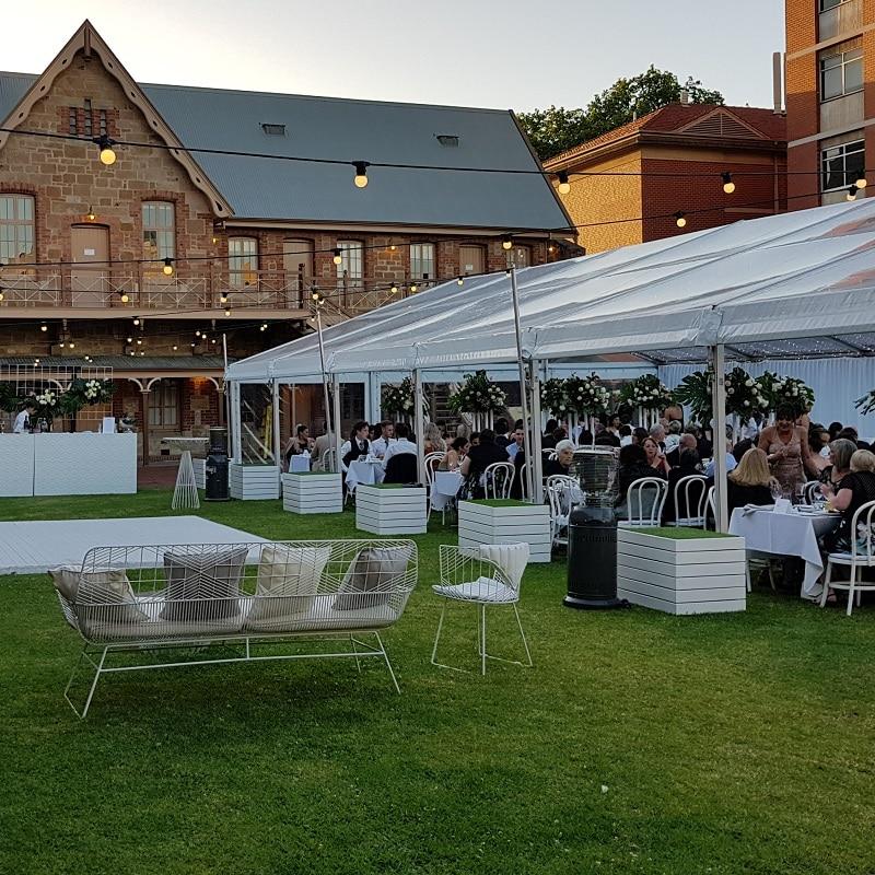 South Australian wedding special day estoon lights lights