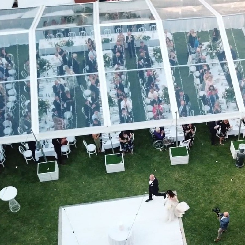 South Australian Museum wedding wedding pavilion