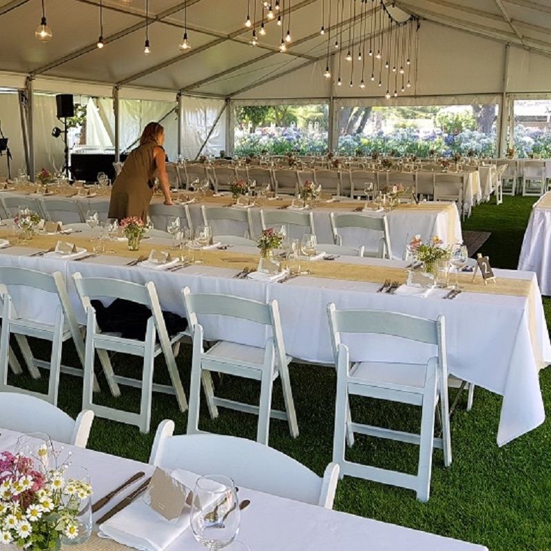 Wedding Hire Adelaide partridge glenleg event crew to set up and style furniture
