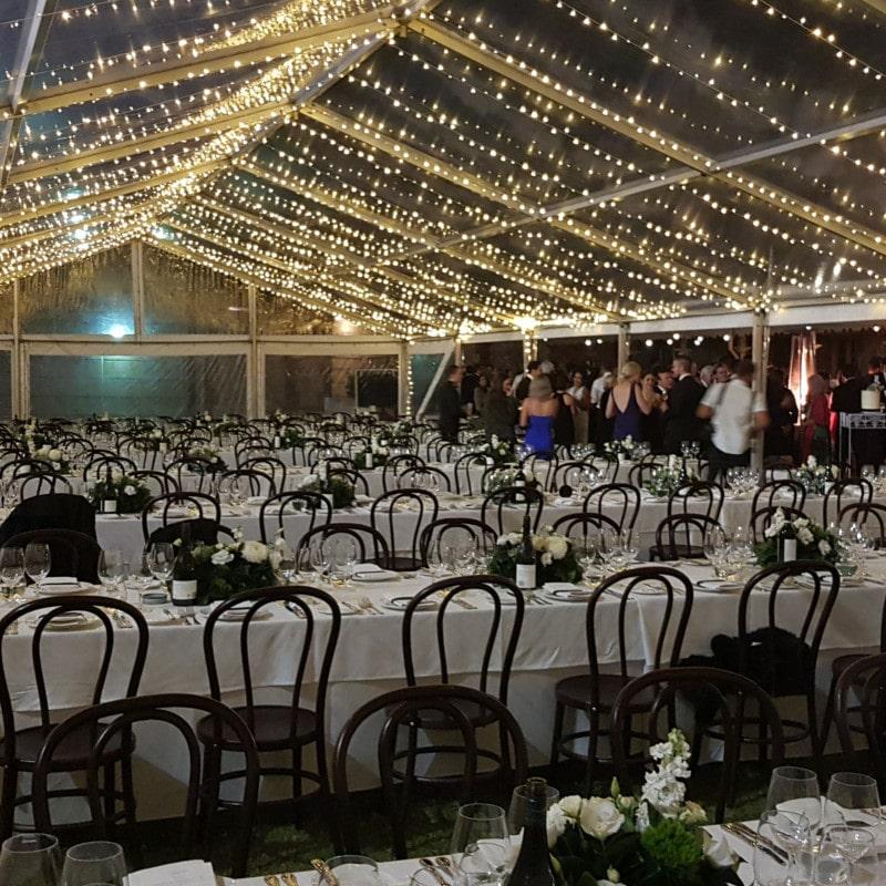 South Australian Museum wedding Fairy lights