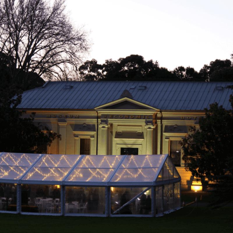 Pavilion Hire botanic gardens